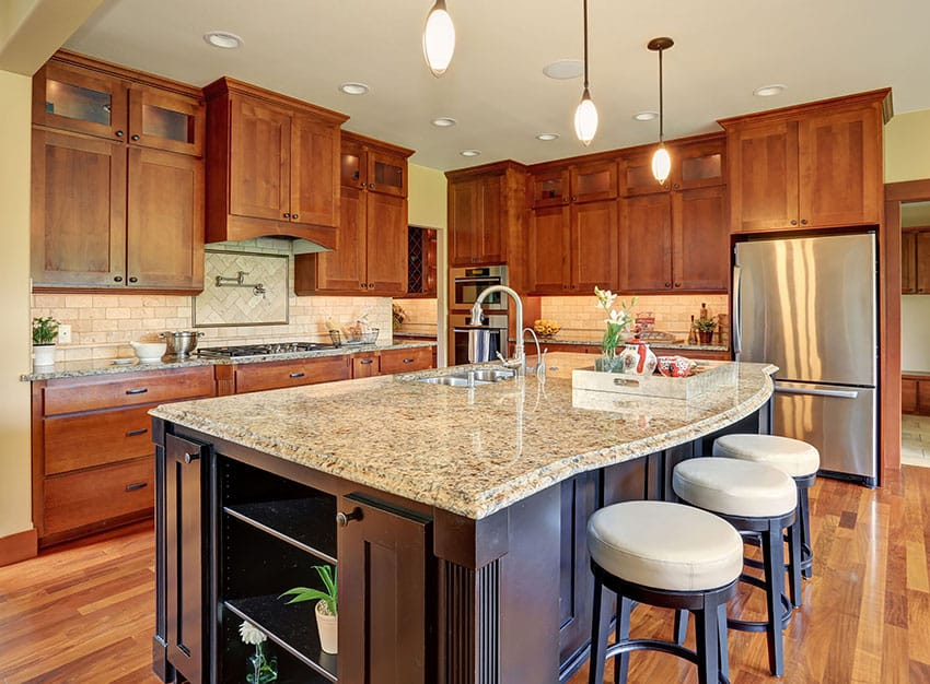 53 High End Contemporary Kitchen Designs With Natural