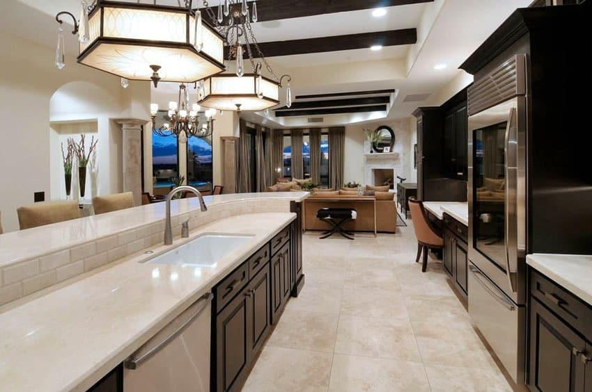 Open Galley Kitchen Layout