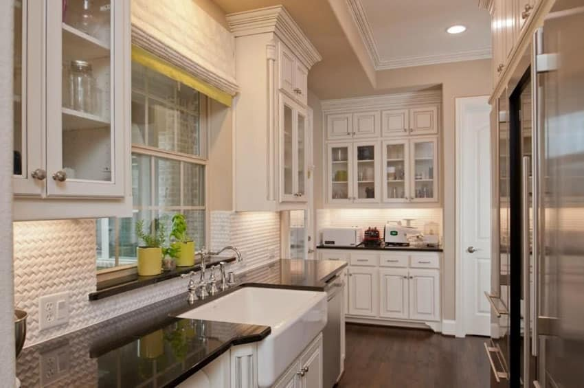 Narrow Galley Kitchen Designs