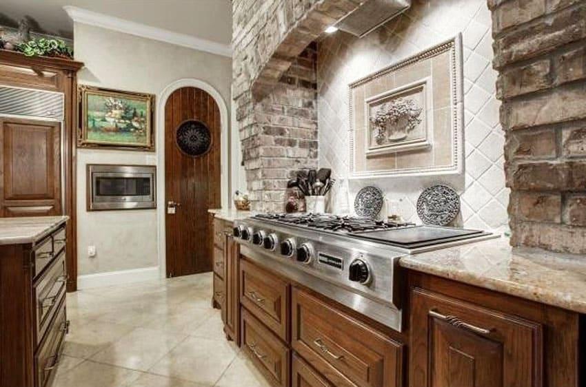 50 brick kitchen design ideas tile