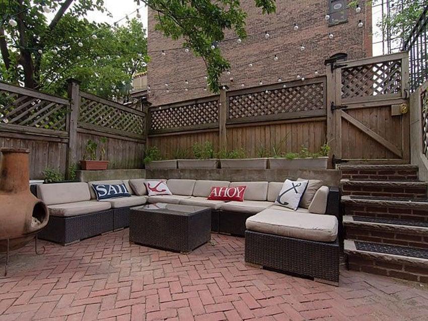 25 Brick Patio Design Ideas - Designing Idea on Red Paver Patio Ideas id=32238