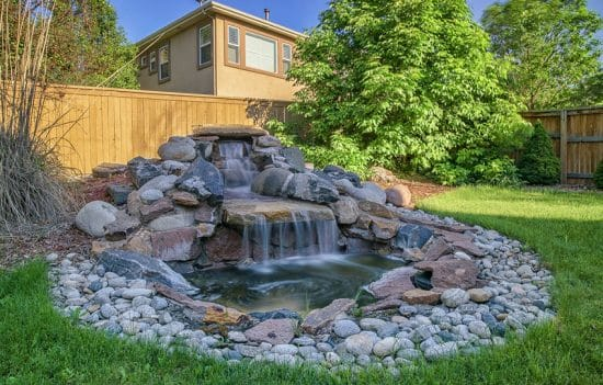 53 Backyard Garden Waterfalls (Pictures of Designs ... on Waterfall Ideas For Garden id=27186