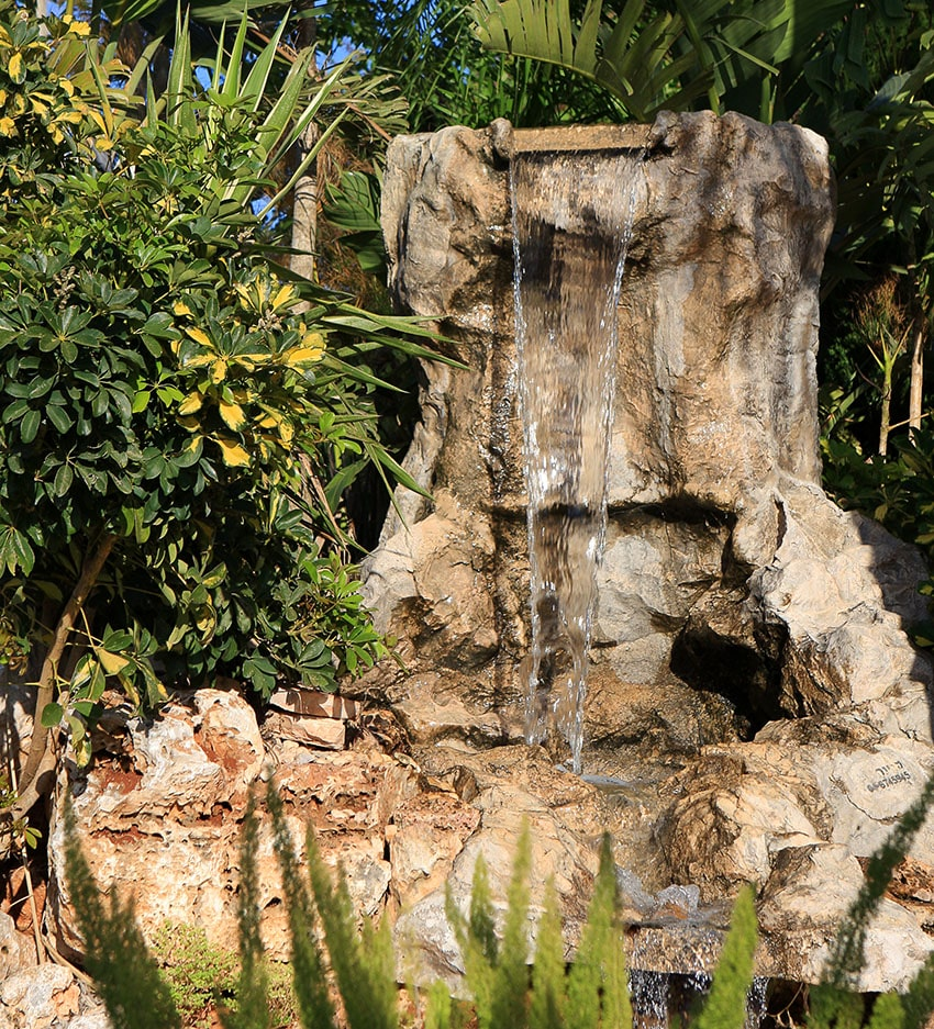 53 Backyard Garden Waterfalls (Pictures of Designs ... on Rock Garden Waterfall Ideas  id=51228