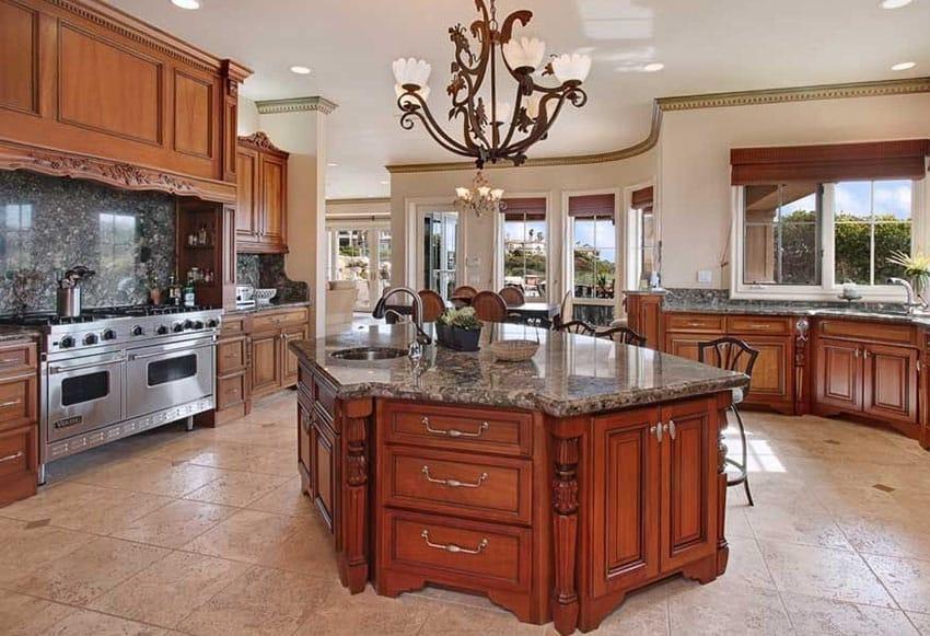 Kitchen Backsplash Designs (Picture Gallery) - Designing Idea on Backsplash With Dark Granite  id=78556