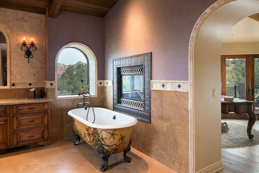 Clawfoot Tub Ideas This Is Pretty Similar To My Own Bathroom