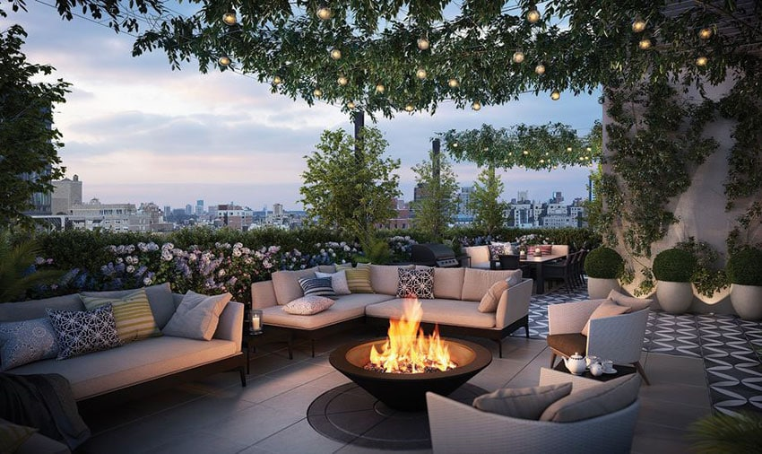 50 Beautiful Patio Ideas (Furniture Pictures & Designs ... on Fine Living Patio Set id=45211