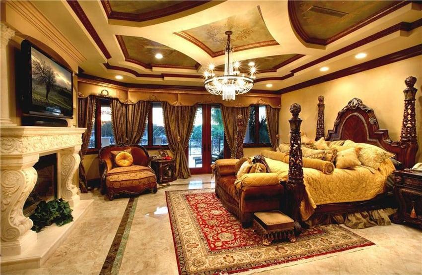 53 Elegant Luxury Bedrooms (Interior Designs)