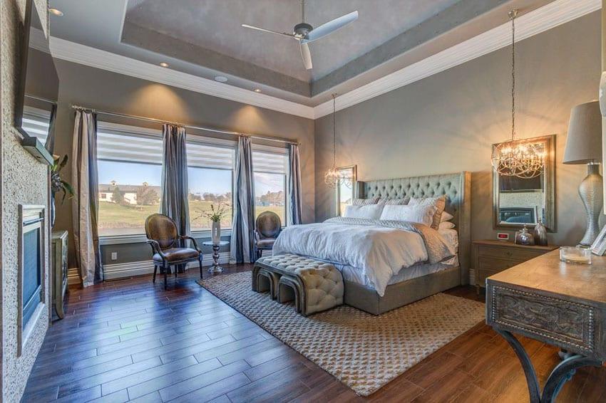 53 Elegant Luxury Bedrooms (Interior Designs) - Designing Idea on Luxury Master Bedroom  id=82567