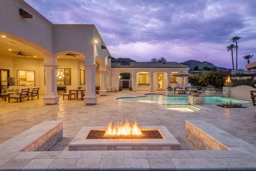 50 Beautiful Patio Ideas (Furniture Pictures & Designs ... on Luxury Backyard Patios id=99002