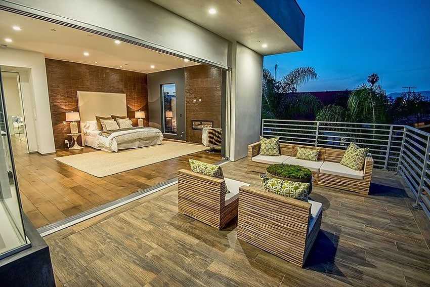 49 Backyard Deck Ideas (Beautiful Pictures of Designs ... on Backyard Patio Steps id=89961