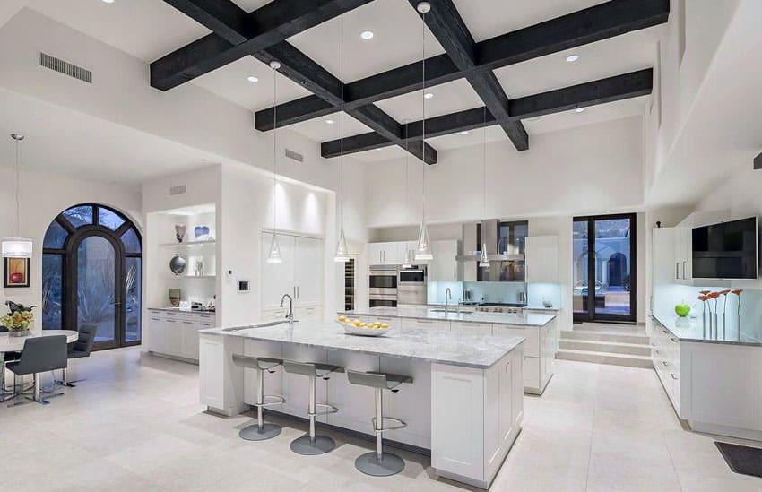 27 Amazing Double Island Kitchens (Design Ideas