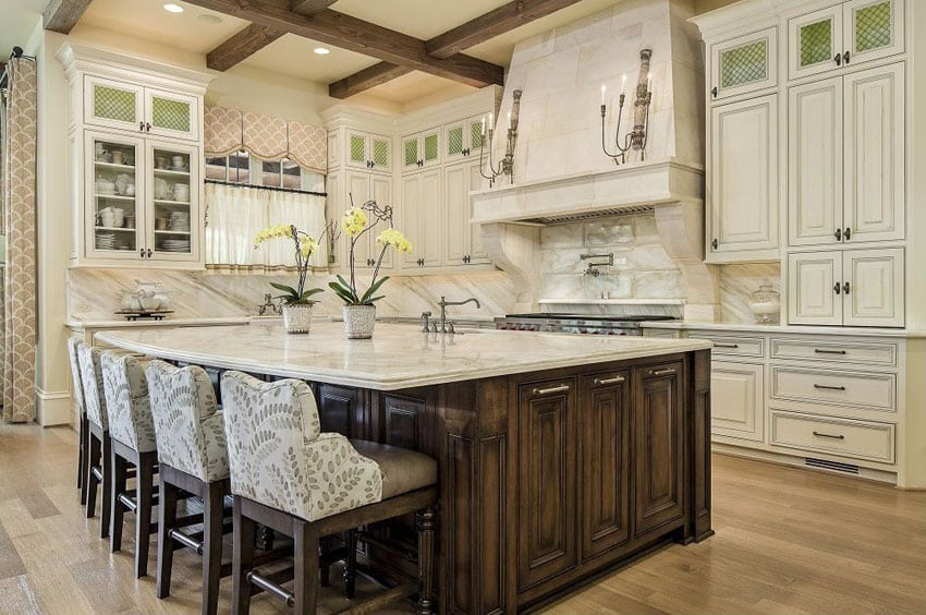 37 Large Kitchen Islands With Seating Pictures Designing Idea