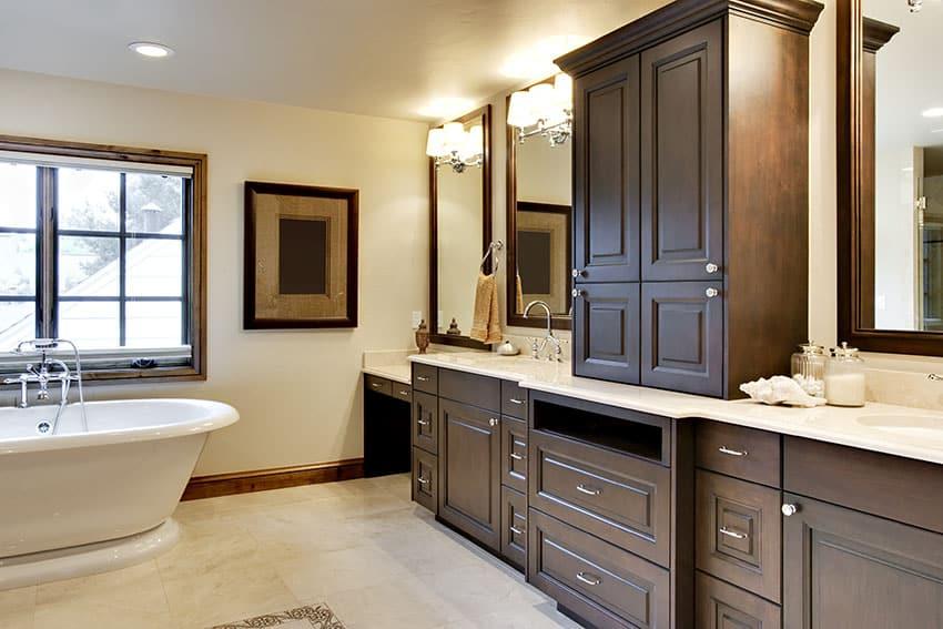 25 Craftsman Style Bathroom Designs (Vanity, Tile
