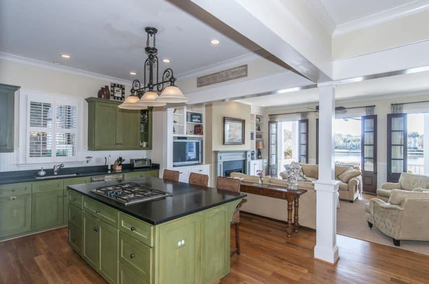 26 Farmhouse Kitchen Ideas (Decor & Design Pictures ... on Kitchen Farmhouse Granite Countertops  id=31845