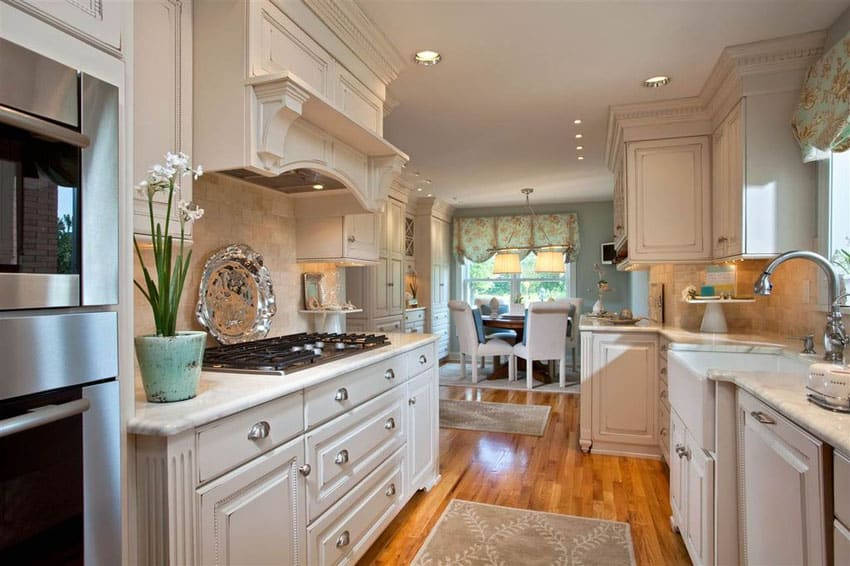 Large Galley Kitchen Design Ideas