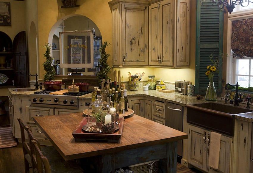 26 Farmhouse Kitchen Ideas (Decor & Design Pictures ... on Rustic Farmhouse Kitchen  id=14439
