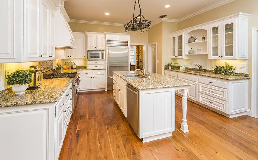 26 Farmhouse Kitchen Ideas (Decor & Design Pictures ... on Farmhouse Granite Countertops  id=29636