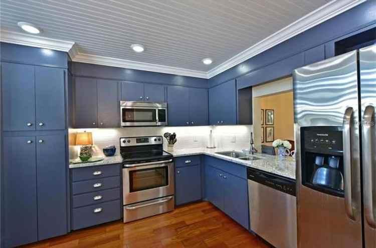 33 Blue And White Kitchens Design Ideas Designing Idea