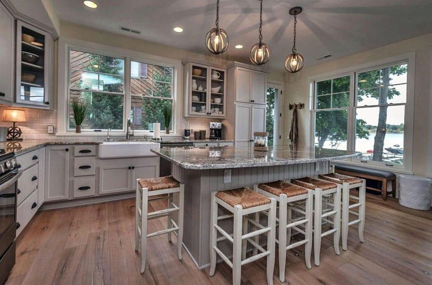25 Cottage Kitchen Ideas (Design Pictures) - Designing Idea on Farmhouse Kitchen Sink Ideas  id=21116