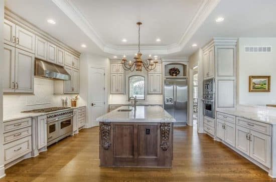Antique White Kitchen Cabinets Design Photos Designing