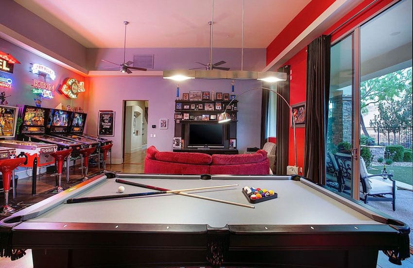 125 Best Man Cave Ideas (Furniture & Decor Pictures ... on Man Cave Patio Ideas  id=59384