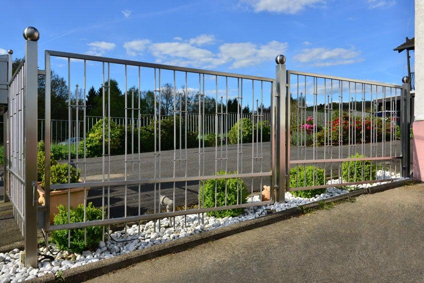 Cast Concrete Fence Pillars