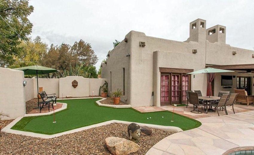 27 Golf Backyard Putting Green Ideas - Designing Idea on Putting Green Ideas For Backyard id=20458