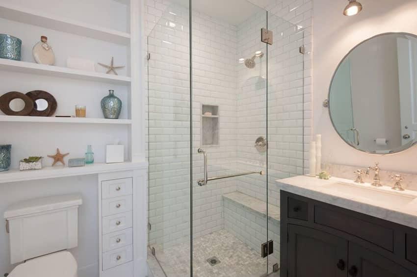 Small Bathroom Ideas (Vanity, Storage & Layout Designs ... on Small Area Bathroom Ideas  id=97079
