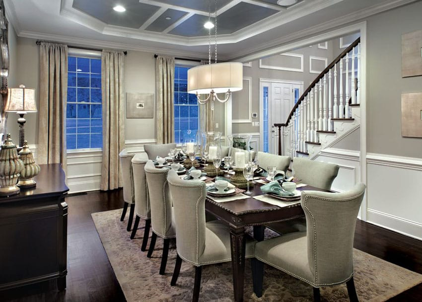 Image Result For Height Of Chandelier Over Dining Room Table