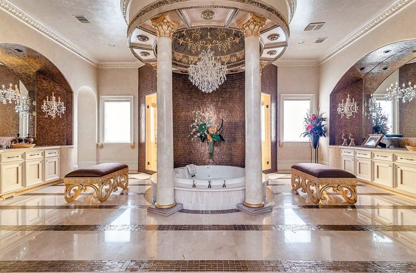 Large Expensive Bathrooms Master
