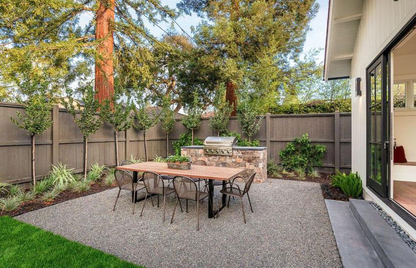 50 Best Gravel Patio Ideas (DIY Design Pictures ... on Pebble Yard Ideas id=16610