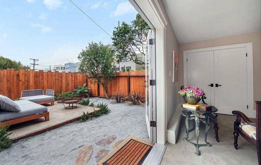 50 Best Gravel Patio Ideas (DIY Design Pictures ... on Raised Concrete Patio Ideas id=46196