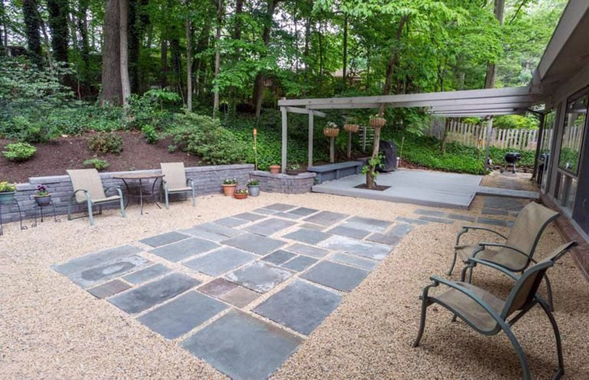 50 Best Gravel Patio Ideas (DIY Design Pictures ... on Backyard With Gravel Ideas id=30833