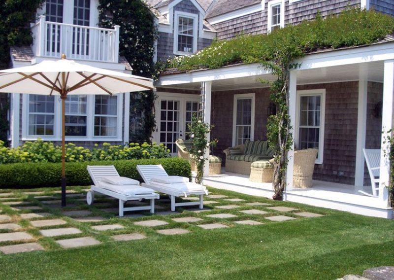 Paving Stone Ideas (Patio & Walkway Designs) - Designing Idea on Pebble Patio Ideas id=79447