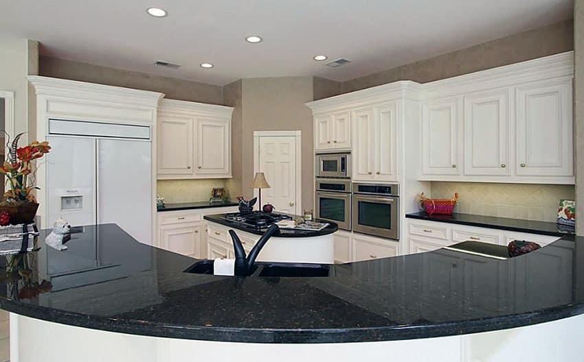 Black Granite Countertops Colors Amp Styles Designing Idea