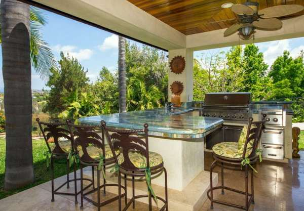 tropical patio outdoor kitchens 37 Outdoor Kitchen Ideas & Designs (Picture Gallery