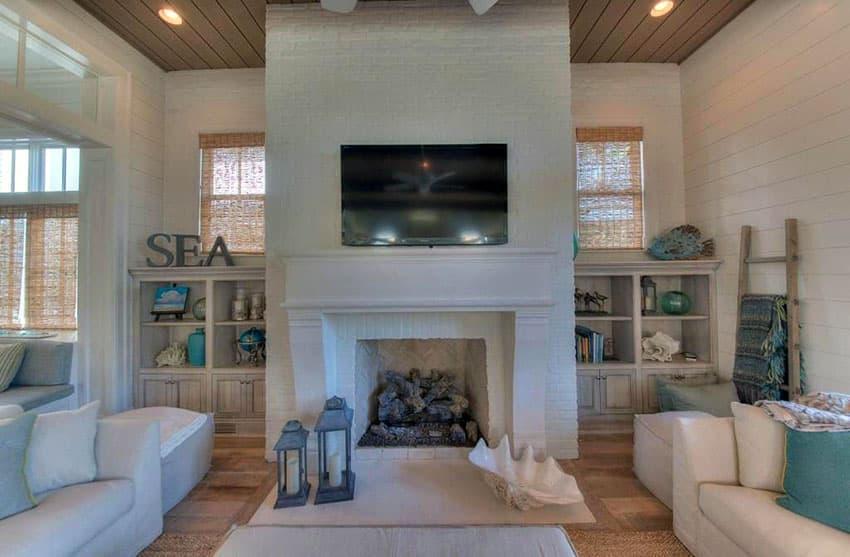 21 Coastal Themed Living Room Designs Decorating Ideas