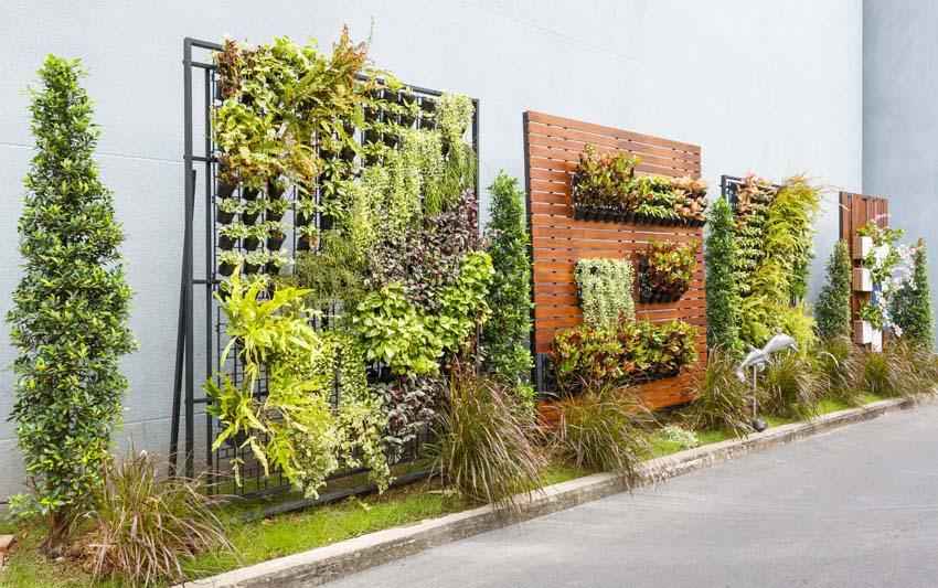 Stone Garden Planters