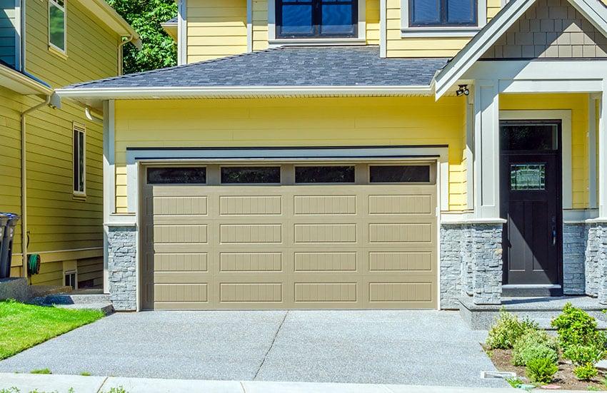 Garage Door Color Ideas (Ultimate Guide) - Designing Idea on Garage Door Color  id=69101
