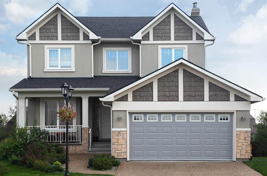 Garage Door Color Ideas (Ultimate Guide) - Designing Idea on Garage Door Color  id=43918