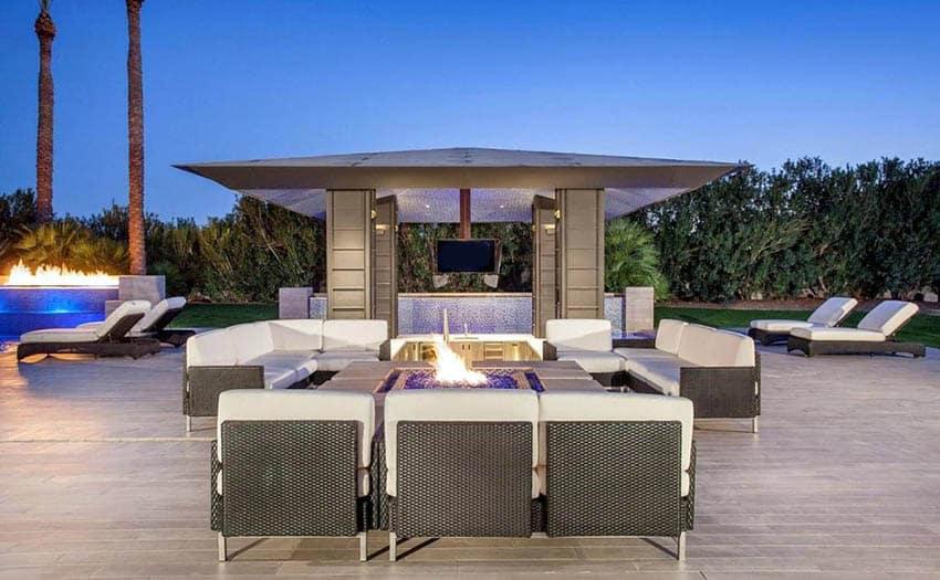 33 Stunning Modern Patio Ideas (Pictures) - Designing Idea on Luxury Backyard Patios id=26847
