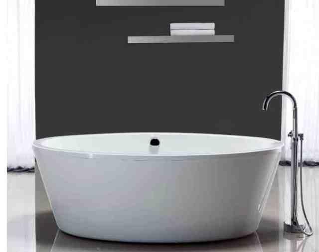 Akrilik içinde Japon tarzı banyo küveti