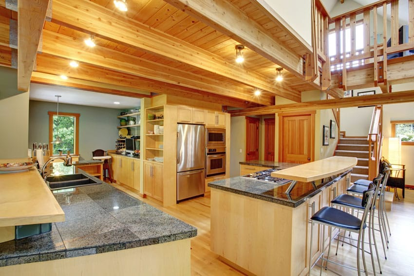 Log Cabin Kitchens Cabinets Amp Design Ideas Designing Idea
