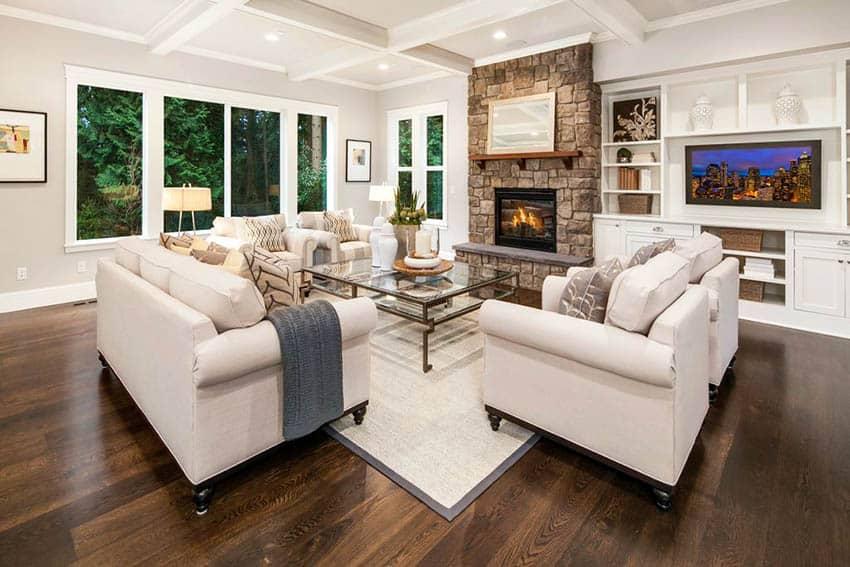 living room flooring ideas top