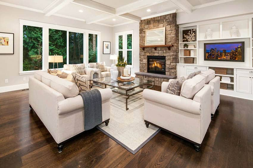 Living Room Flooring Ideas (Top Interior Designs ...