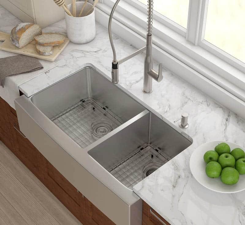 single vs double kitchen sink pros