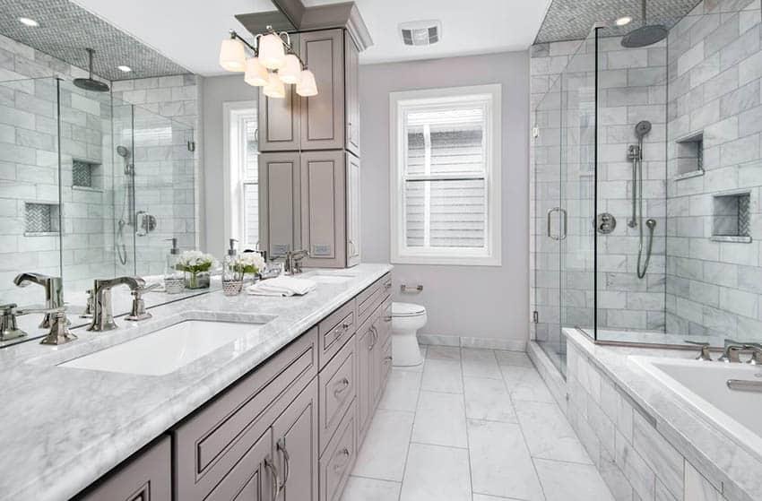 best bathroom countertops design ideas