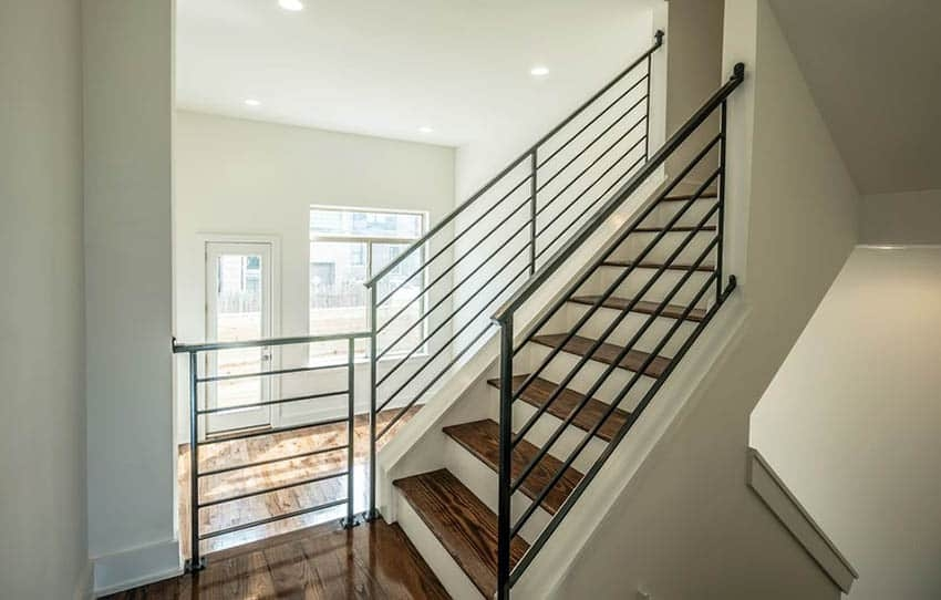 60 Gorgeous Stair Railing Ideas Designing Idea | Modern Wood Staircase Railing | Interior | Stylish | Wall Mounted | Contemporary | House