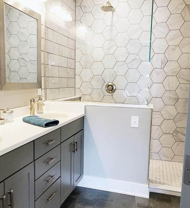 tile shapes interior design ideas