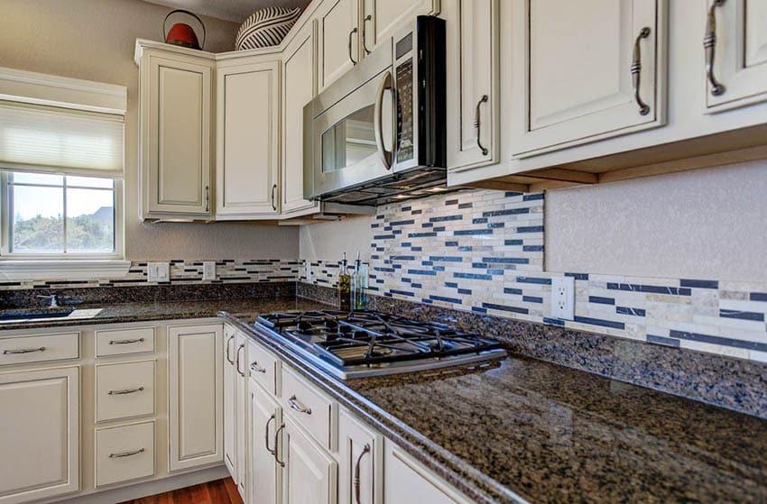 distressed kitchen cabinets design